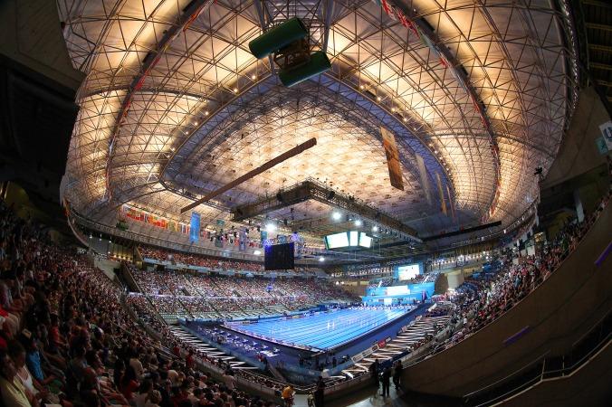 Palau Sant Jordi Campeonatos del Mundo de Natación BCN2013