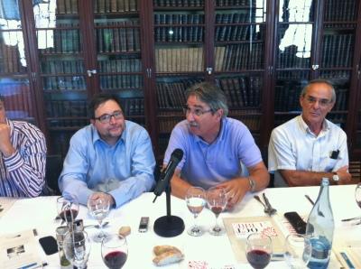 Miquel Àngel Barrabia, Juli Pernas i Joan Garrigós