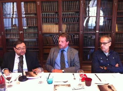 Miquel Àngel Barrabia, Andor Serra i Pere Alcober
