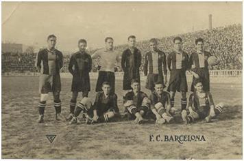 Equip del FC Barcelona dels anys 20