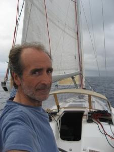 Juan Porcar durant una regata