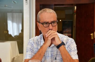 Pere Alcober durant el debat